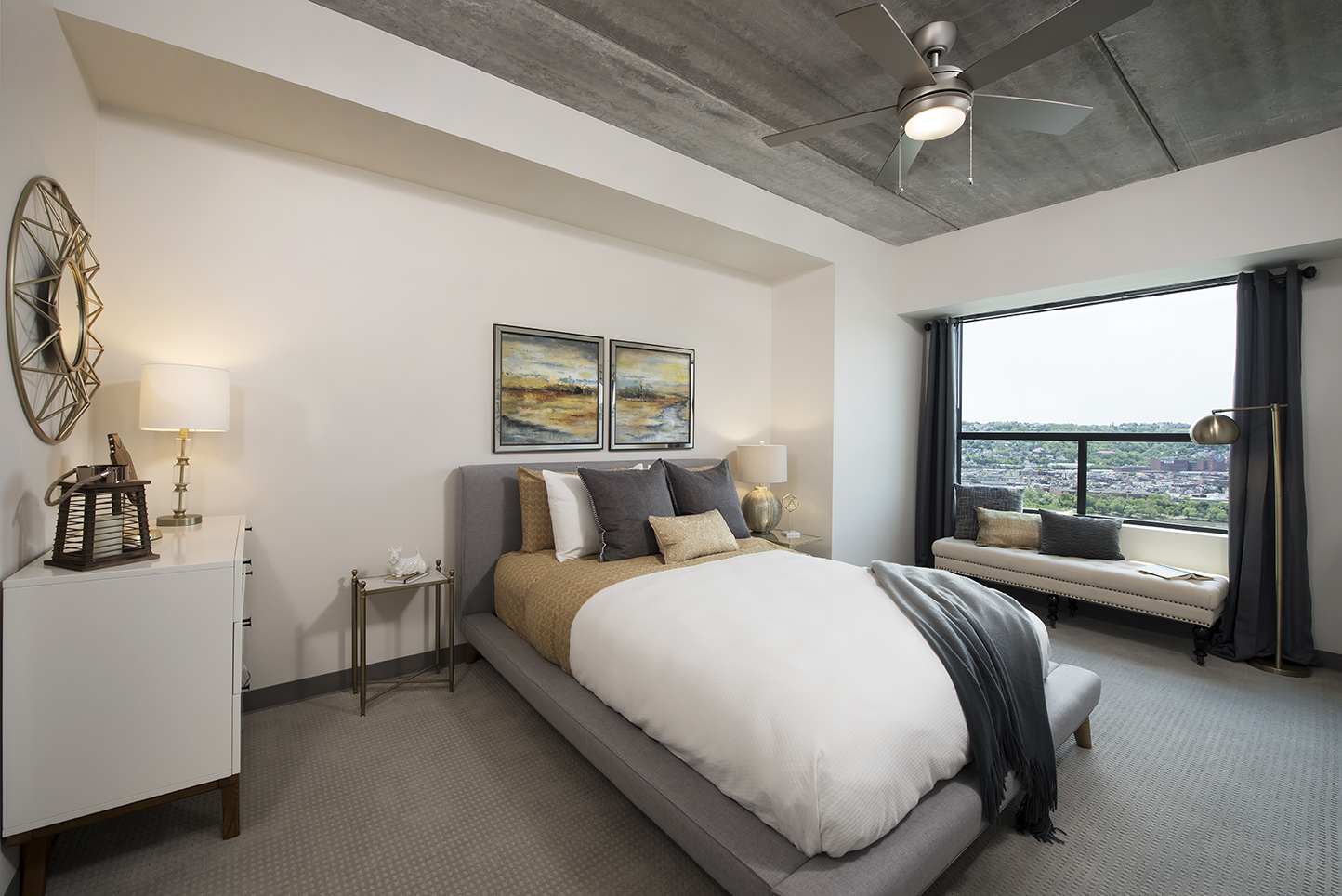 Beautiful Bedrooms Skyvue Apartments