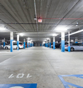 ON-SITE COVERED GARAGE PARKING